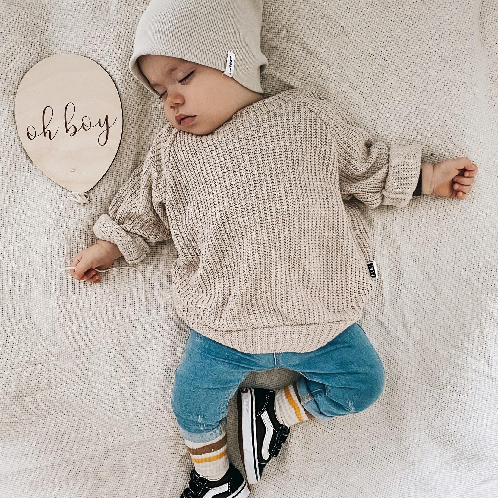 Fashion Kids  Knit sweater  beige