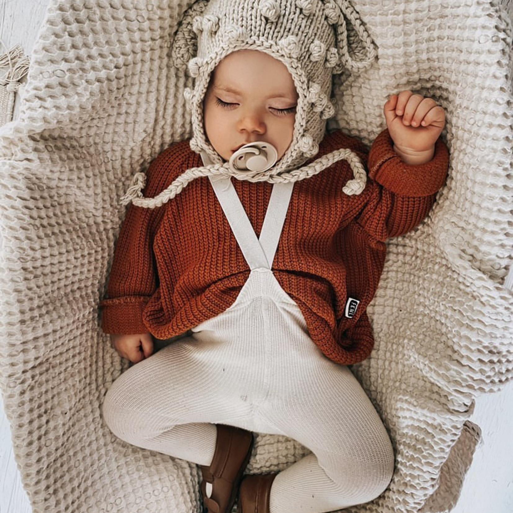 Fashion Kids  Knit sweater  cognac