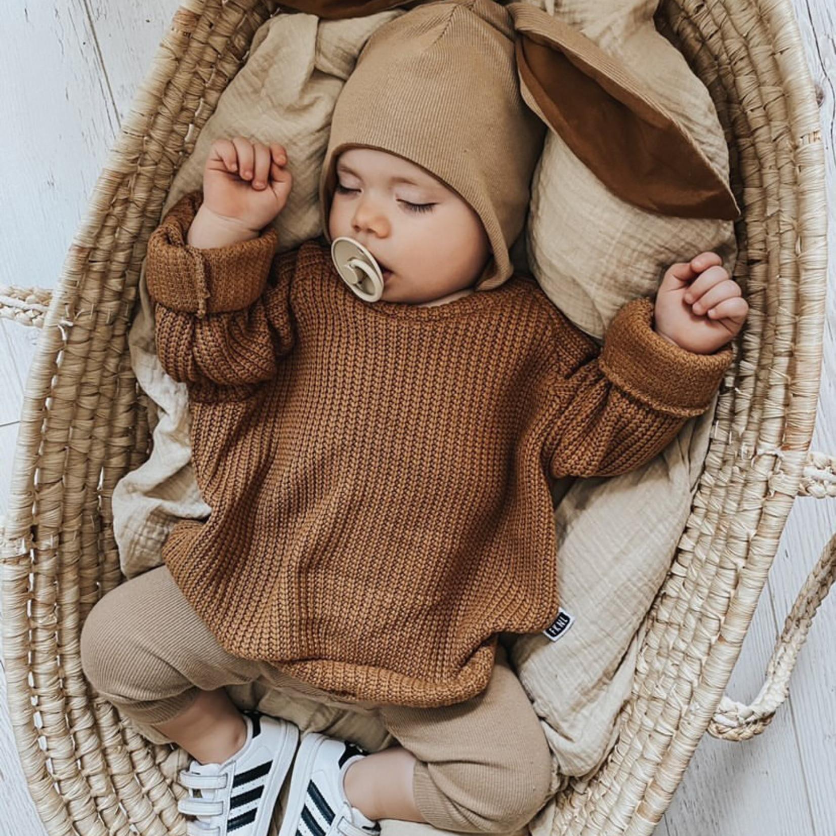 Fashion Kids  Knit sweater camel