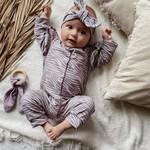 Fashion Kids  Boxpakje Zebra licht  - met Ruffle