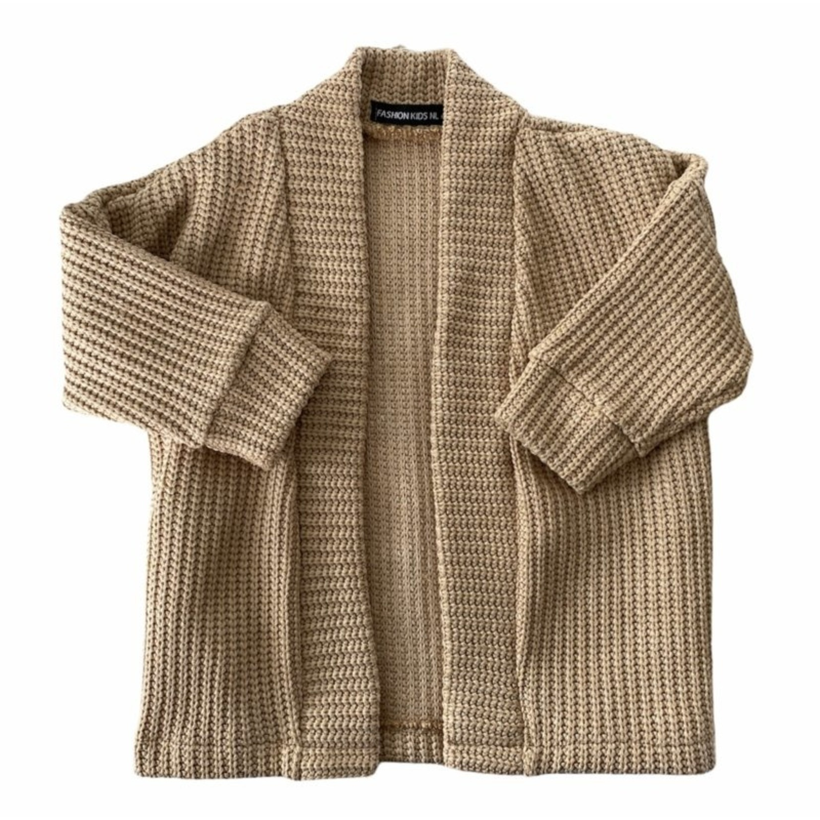 Fashion Kids  Knit vest  taupe
