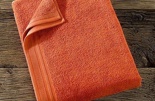 De Witte Lietaer Imagine Dusty Orange (90x200cm) Saunalaken