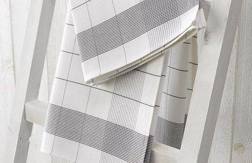 De Witte Lietaer Mixte Grey (68x68cm) Theedoek