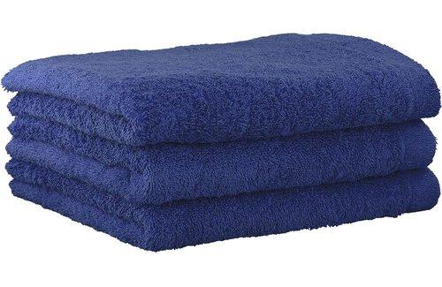 Cawö Lifestyle Uni Saffier Handdoek