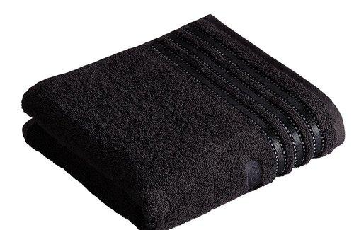 Vossen Cult de Luxe Black Handdoek