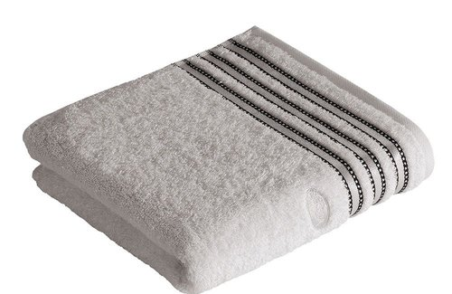 Vossen Cult de Luxe Light Grey Handdoek