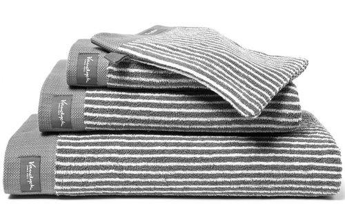 Vandyck Ligne Mole Grey Handdoek