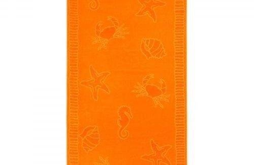 Arkhipelagos Seafood Orange (100x200cm) Strandlaken