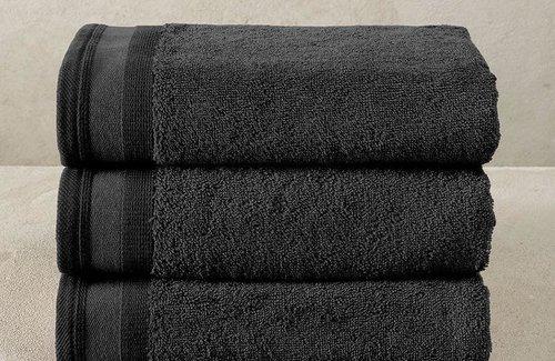 De Witte Lietaer Excellence Black Handdoek