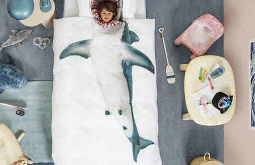 SNURK Shark Dekbedovertrek