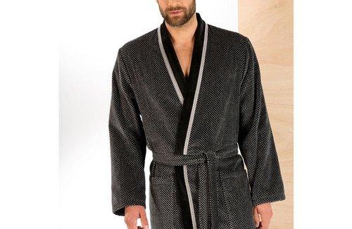 Cawö Kimono Grey 4839 Badjas