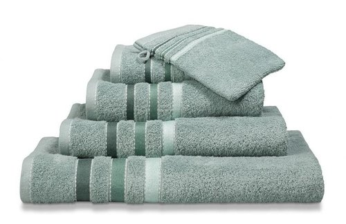 Vandyck Prestige Lines Vintage Green Handdoek