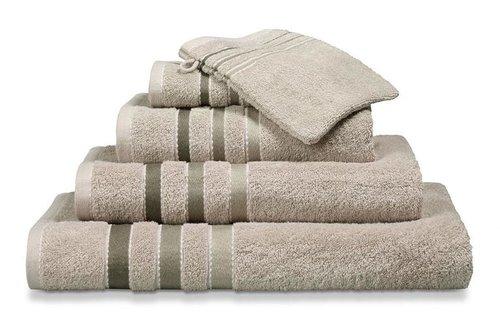 Vandyck Prestige Lines Stone Handdoek