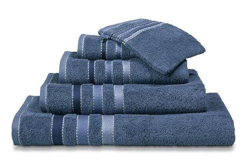 Vandyck Prestige Lines Vintage Blue Handdoek