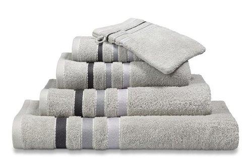Vandyck Prestige Lines Steel Grey Handdoek