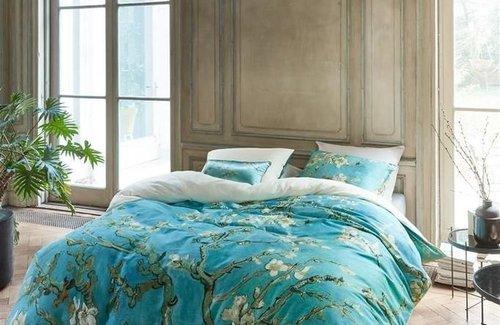 Beddinghouse van Gogh Almond Blossom Blue Dekbedovertrek