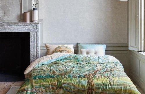 Beddinghouse van Gogh Orchard Grey Dekbedovertrek