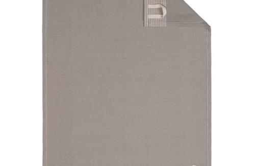 Cawö Two-Tone Graphite (50x70cm) Theedoek