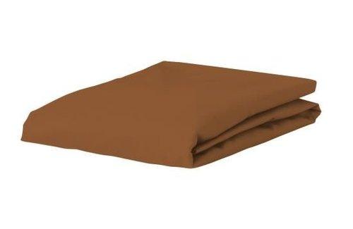 Essenza Satin Leather Brown Hoeslaken
