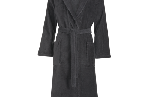 Vandyck Prestige Uni Velours Dark Grey Badjas