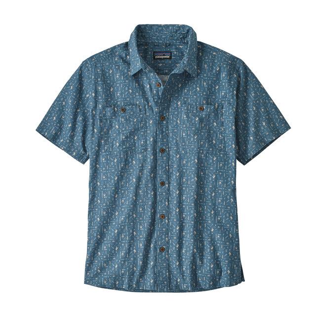 M's Back Step Shirt - Swamp Stamp