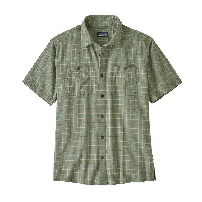 M's Back Step Shirt - Ellwood Green