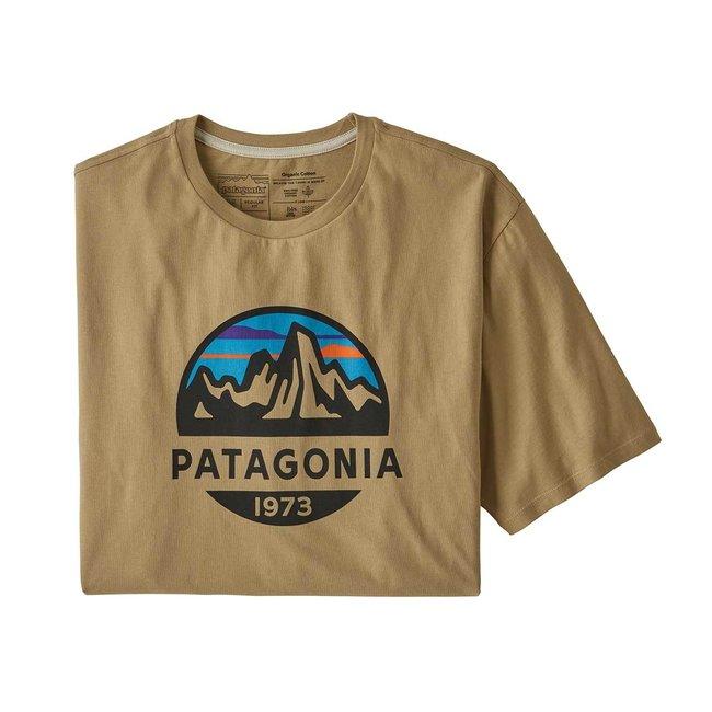 M's Fitz Roy Scope Organic Cotton T-Shirt - Classic Tan