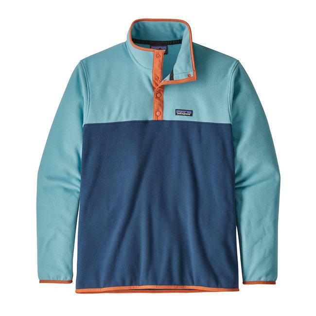 M's Micro D™ Snap-T® Fleece Pullover - Stone Blue