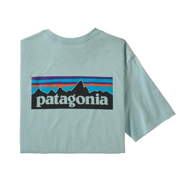 M´s p-6 Logo Responisibili Tee - Big Sky Blue