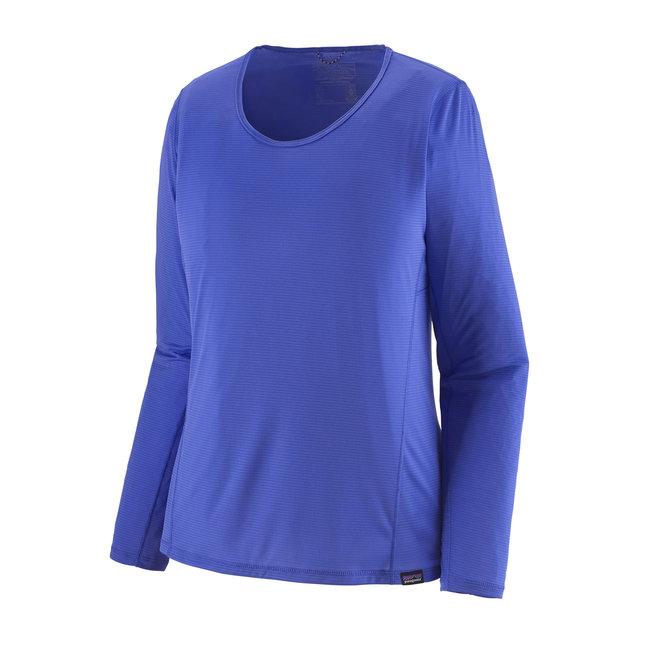 W´s L/S Capilene cool lightweight Shirt - Float Blue