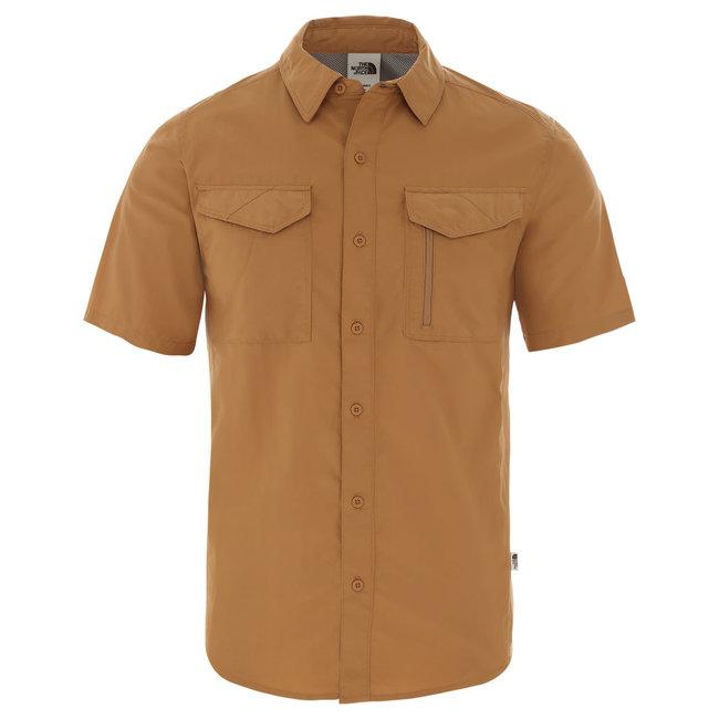 S/S Sequoia Shirt - Cedar Brown