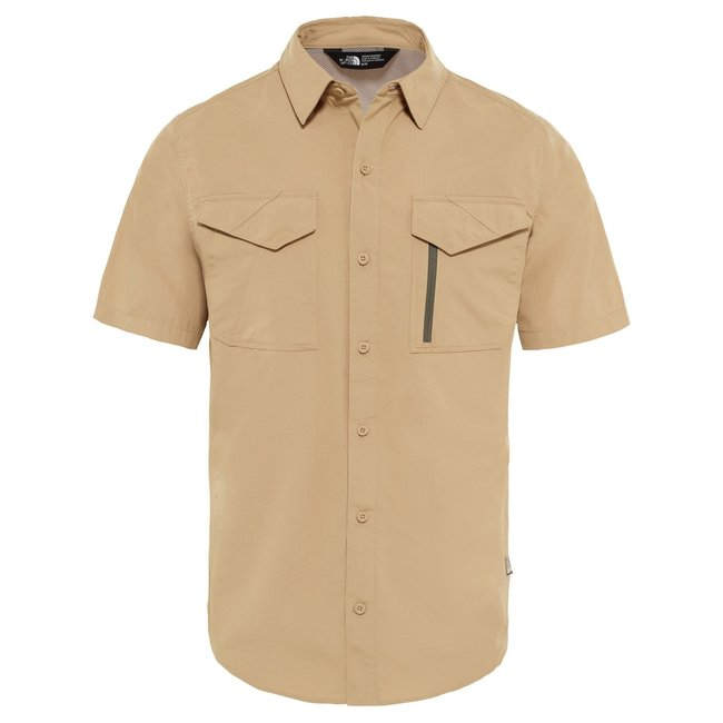 S/S Sequoia Shirt -Kelp Tan