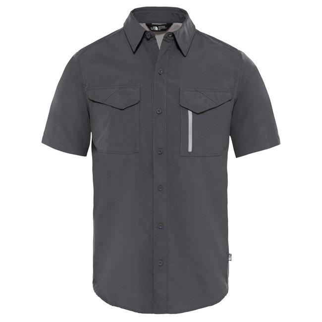 S/S Sequoia Shirt -Asphalt Grey/Mid Grey