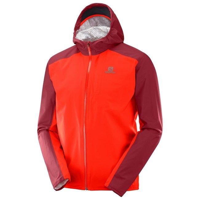 Bonatti 2.5L Jacket  - Fiery Red-Biking Red
