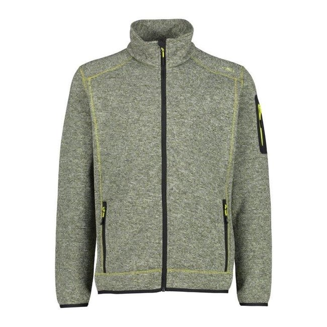 Man Fleece Jacket - Cactus/Lime