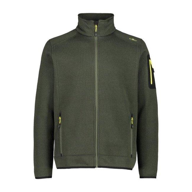 Man Fleece Jacket - Bark