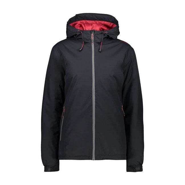 W Jacket Fix Hoody -Black Blue/violet