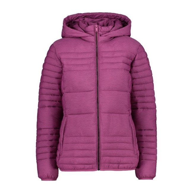 Snaps Jacket Hoodie W - Amaranto