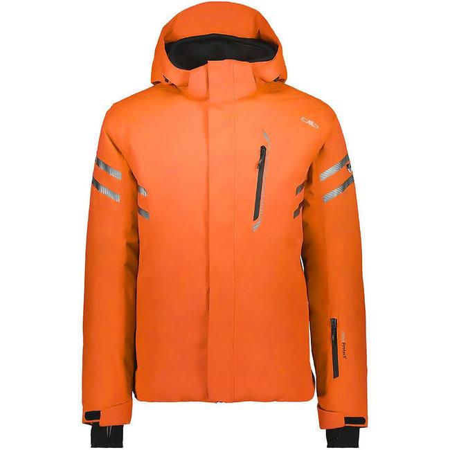 Man Jacket Fix Hood - Orange