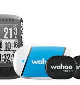 WAHOO WAHOO FITNESS COMPUTER ELEMNT BOLT GPS BUNDLE INCL. TICKR, RPM SPEED/CADENCE