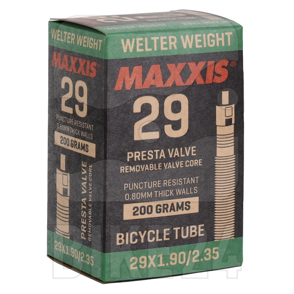 MAXXIS MAXXIS WELTER WEIGHT TUBE 29 x 1.9-2.35 PRESTA VALVE 48MM 201G