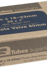 Q-TUBES Q-TUBES TUBE SUPERLIGHT PV, 650 X 18-23C, 60MM