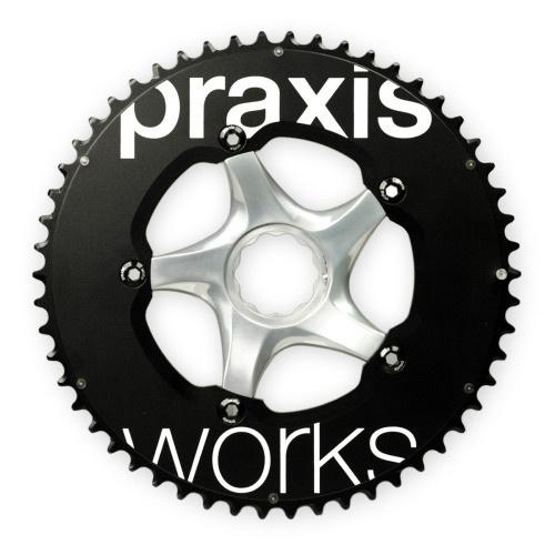 PRAXIS PRAXIS WORKS CHAINRING TT, BLACK, 130BCD, 54/42