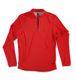 ASSOS ASSOS DB.2 Activity Polo Shirt Long Sleeve, Red, Medium