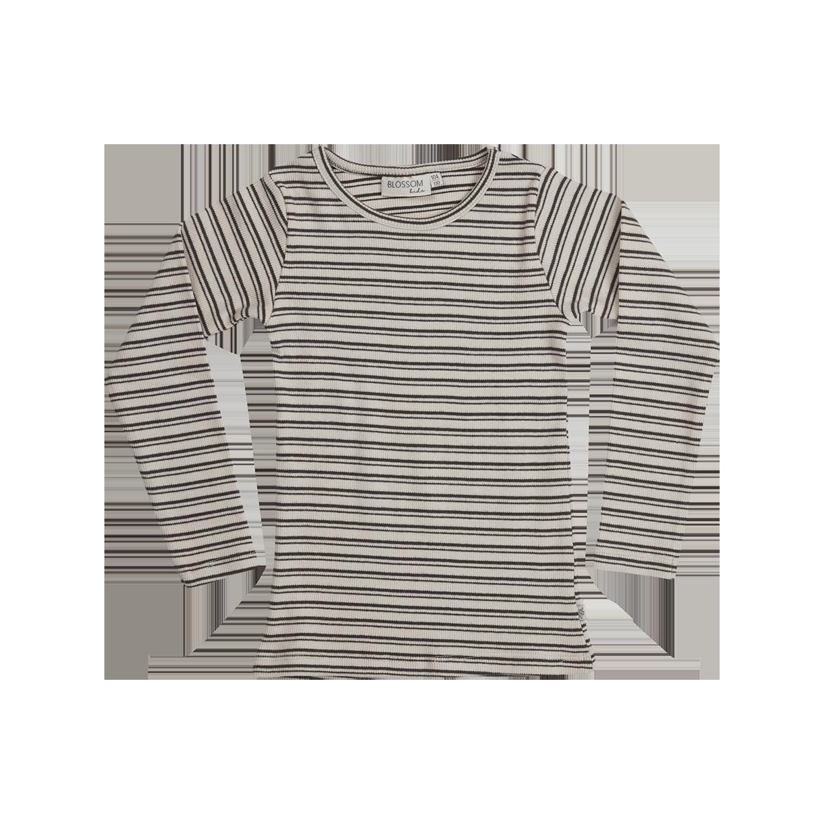 Blossom Kids Long sleeve - stripes - Cinnamon-1