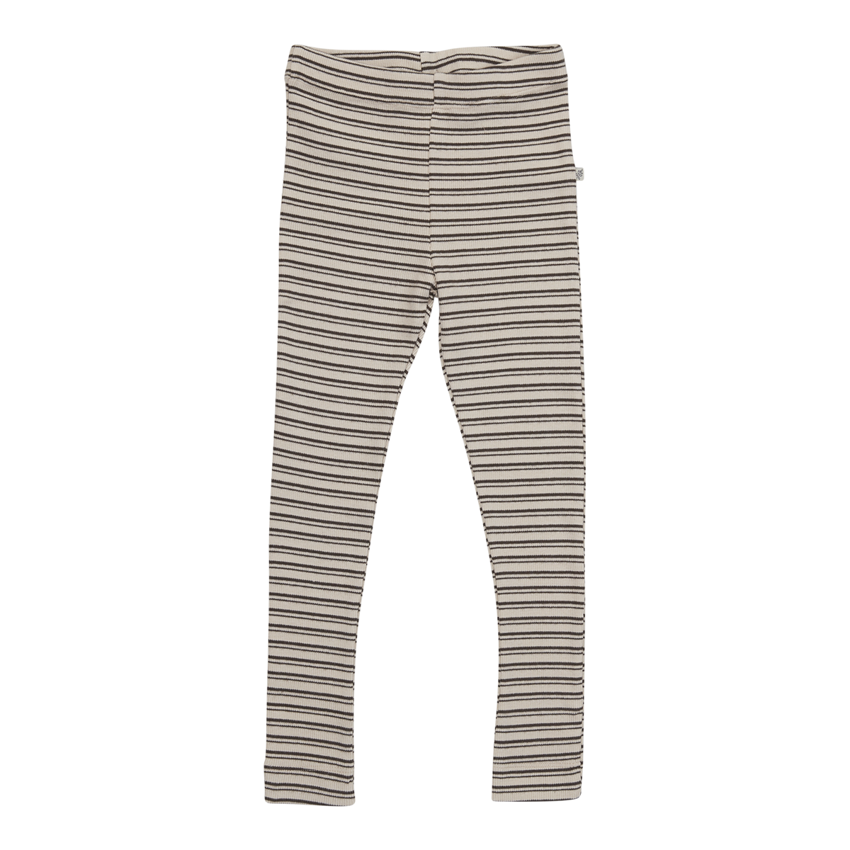 Blossom Kids Legging - stripes - Cinnamon-1