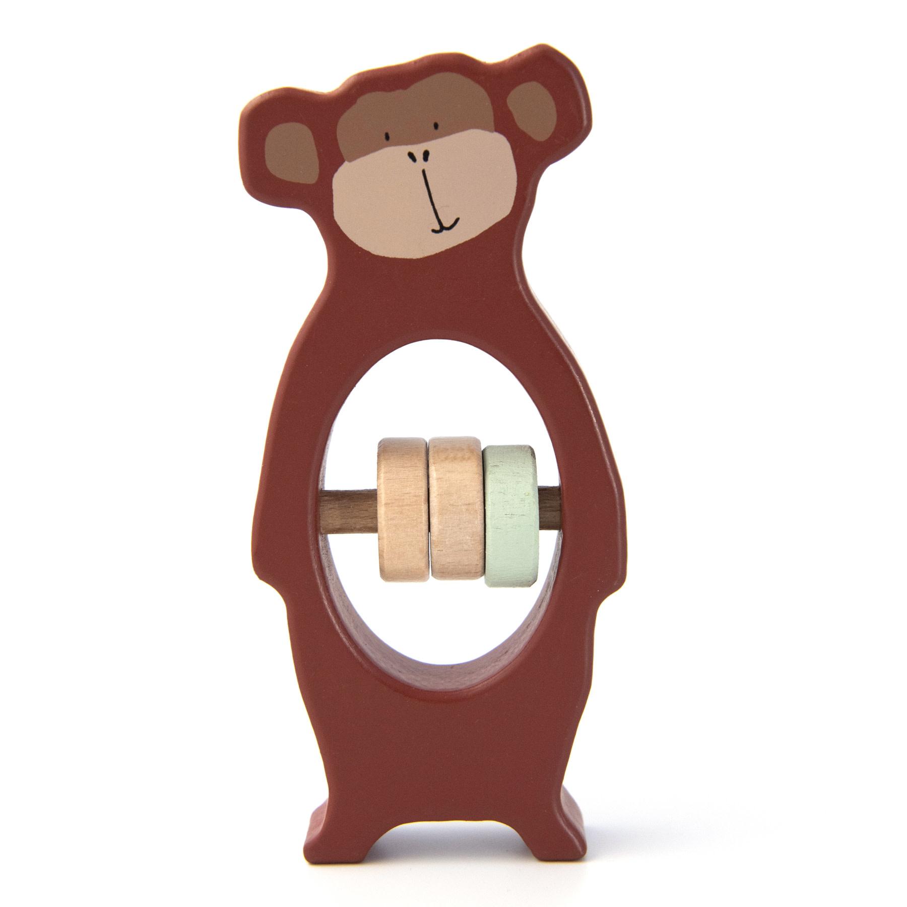 Trixie Houten rammelaar – Mr. Monkey-1
