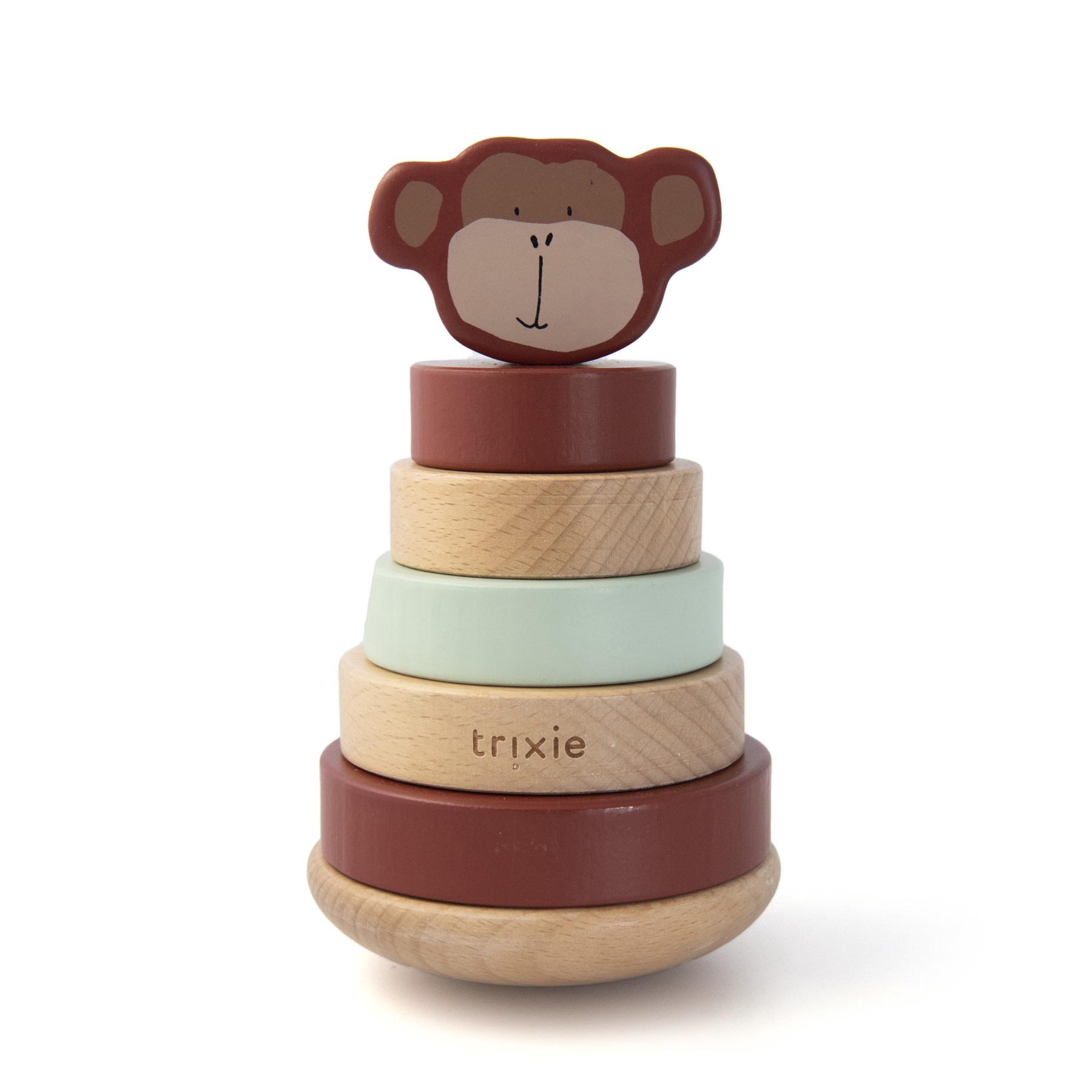 Trixie Houten stapeltoren – Mr. Monkey-1
