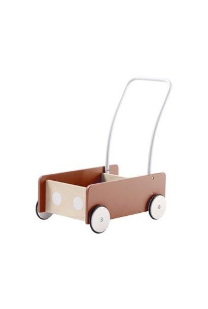 Kid's concept loopwagen - Abrikoos