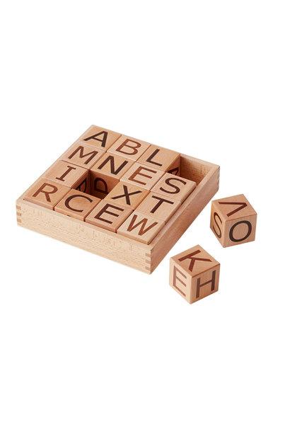 Kid's concept houten blokken alfabet - Neo